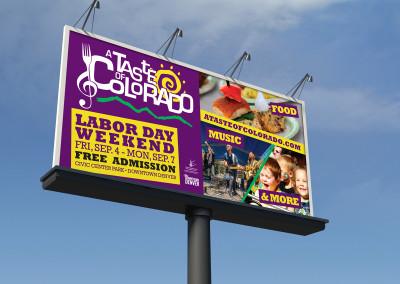 TASTE Billboard