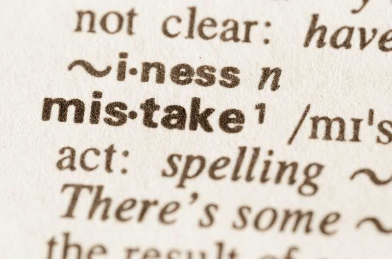 Most Frequent Grammar Mistakes