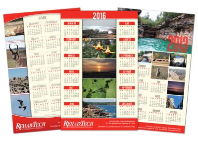 Rehab Tech Calendars